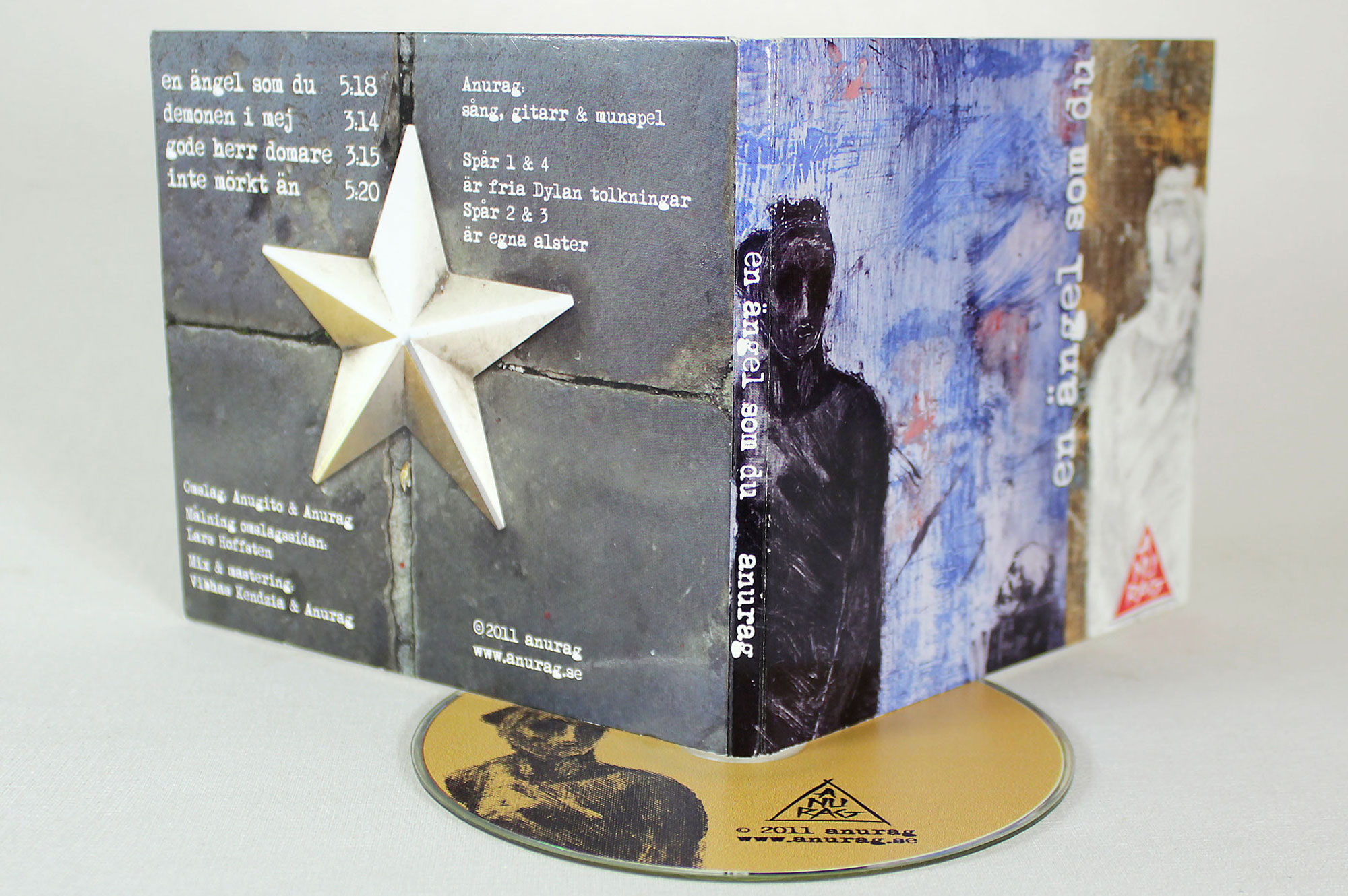 CD Jacket For Swedish Artist Anurag